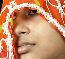 Beauty in Veil by Mukesh Srivastava