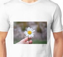 Just Take the Flower Unisex T-Shirt