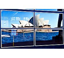 A Reflection on Sydney Opera House - Australia Photographic Print