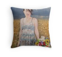 A Summer's Storm Throw Pillow