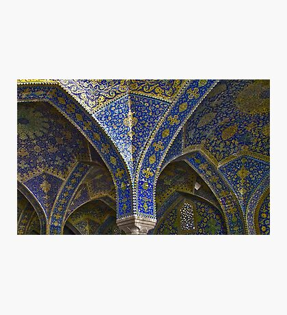 Inside Imam Mosque - Isfahan - Iran Photographic Print