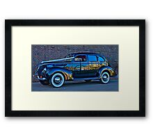 The Wedding Car - Sydney - Australia Framed Print