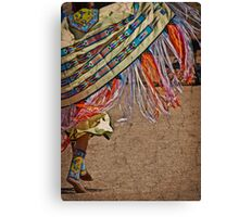 Fringe Dancer Canvas Print