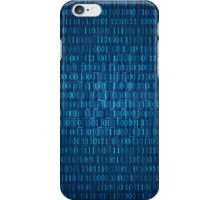 Technology concept hex code iPhone Case/Skin