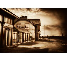A Town called Misery Photographic Print