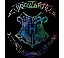 Hogwarts Crest Nebula Photographic Print