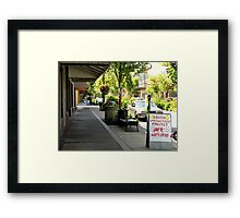 Youth Project, downtown, Eugene Oregon Framed Print