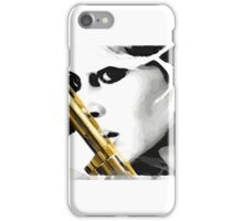 The Gal With the Golden Gun iPhone Case/Skin