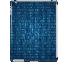 Technology concept hex code iPad Case/Skin