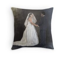 Wedding Throw Pillow