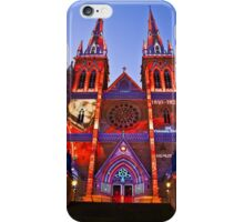 St Marys Cathedral (Governor Macquarie) - Vivid Festival - Sydney - Australia iPhone Case/Skin
