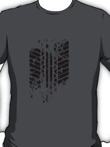 Funny Tire Mark T-Shirt