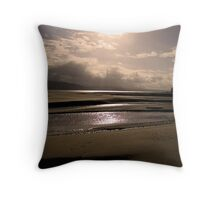 Good Morning from Portsalon, Donegal Throw Pillow