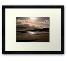 Good Morning from Portsalon, Donegal Framed Print