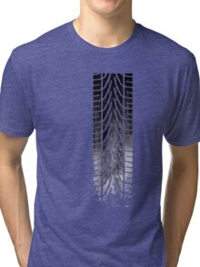 CAR Skid Mark  Tri-blend T-Shirt