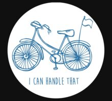 Hipster bicycle - blue Kids Clothes