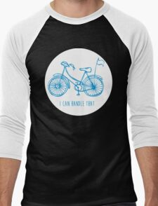 Hipster bicycle - blue T-Shirt