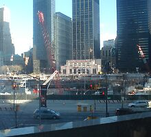 Ground Zero (Twin Towers) by clavond