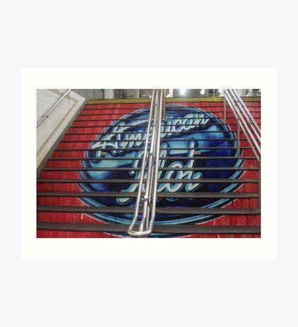 American Idol NYC Art Print
