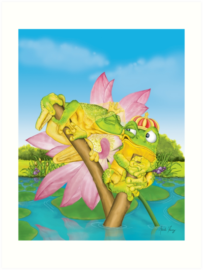Kissing Frogs by Amanda Francey