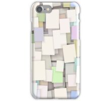 seamless paper note background iPhone Case/Skin