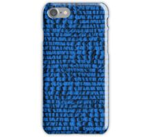 Abstract blue background iPhone Case/Skin