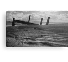what once was..... Portsalon Beach, Donegal. Metal Print
