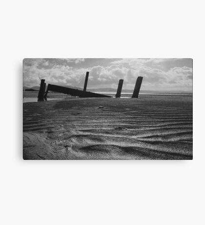 what once was..... Portsalon Beach, Donegal. Canvas Print