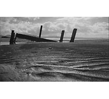 what once was..... Portsalon Beach, Donegal. Photographic Print