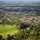 Leckhampton over Cheltenham by Christopher Bookholt