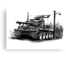 Tiger Heavy Tank Canvas Print