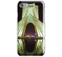 Azadi Tower (White Reflection) -Tehran - Iran iPhone Case/Skin