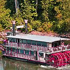 Willamette Queen Paddle Wheel Boat by Marylamb