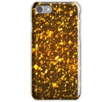 Gold shining background iPhone Case/Skin