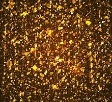 Gold shining background by lantica