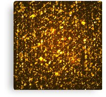 Gold shining background Canvas Print