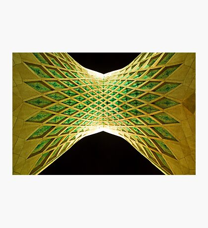 Azadi Tower (Underneath) -Tehran - Iran Photographic Print