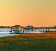 Sunset on Inner Bay, Wilmington, NC by Michael Rubin