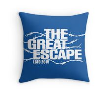 LCFC - The Great Escape Throw Pillow