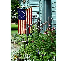 Patriotic Garden Photographic Print