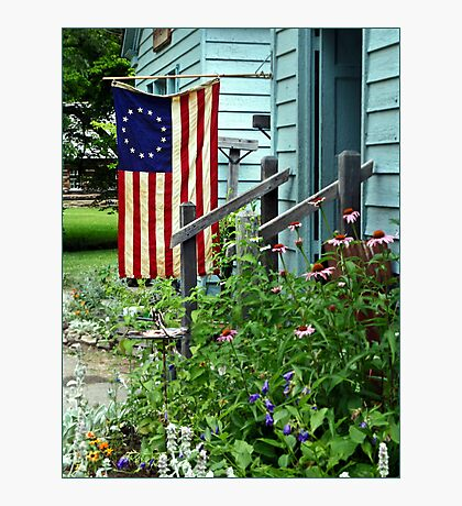 Patriotic Garden Photographic Print