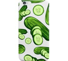 Veggiephile - Cucumbers iPhone Case/Skin
