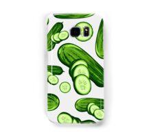 Veggiephile - Cucumbers Samsung Galaxy Case/Skin