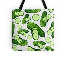Veggiephile - Cucumbers Tote Bag