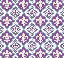 Fleur de Lis Pattern by TropicalToad