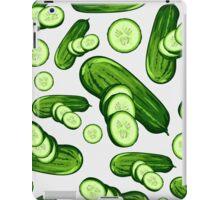 Veggiephile - Cucumbers iPad Case/Skin