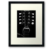 Headstock Framed Print
