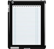 notepad iPad Case/Skin
