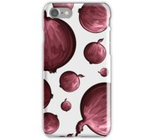 Veggiephile - Onions iPhone Case/Skin