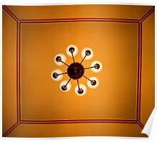 The Amazing Abbasi Hotel - Room 222 Ceiling - Esfahan - Iran Poster